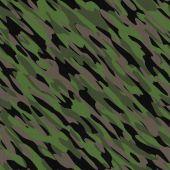 Camouflage Seamless Texture Tile — Foto Stock