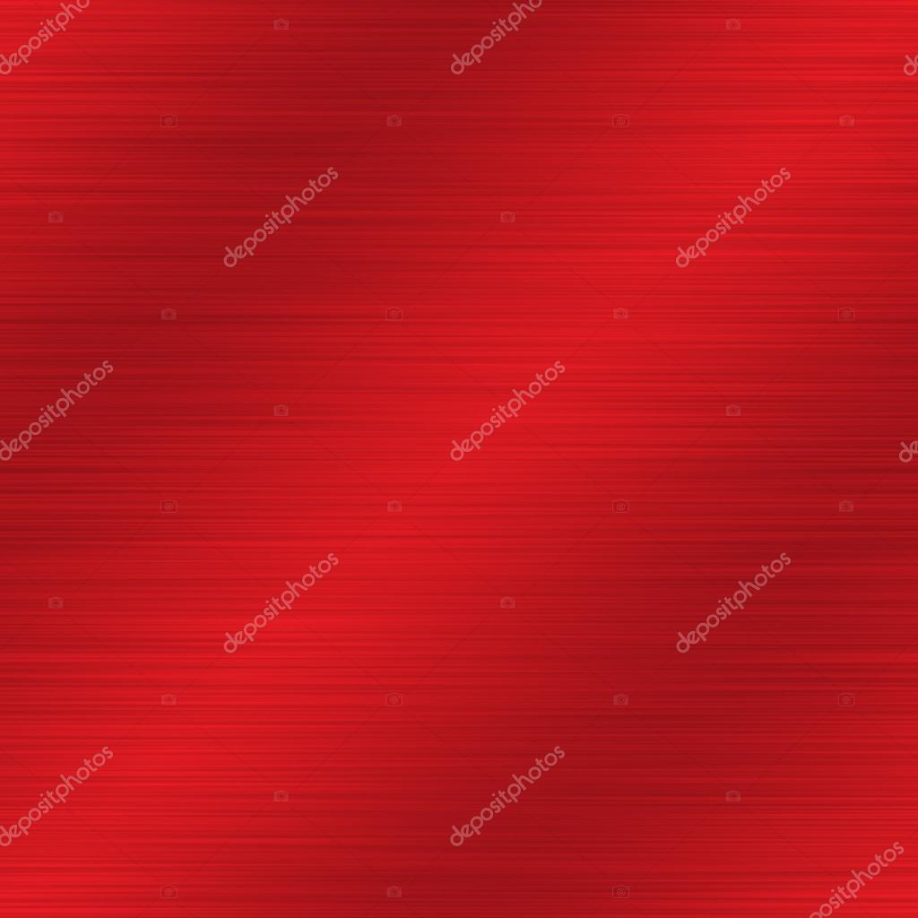 Rotes eloxiertes Aluminium gebürstet Metall nahtlose ...