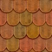 Mattonelle dell'argilla ghiaiosa coperture seamless texture — Foto Stock
