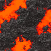 Lava Flow Seamless Texture Tile — Stock Photo