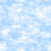 Sky and Clouds Seamless Texture Tile — Stock Photo