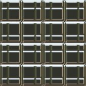 Metalized Block Seamless Texture Tile — Stock Photo