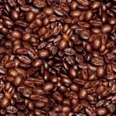 Coffee Beans Seamless Texture Tile — Stockfoto