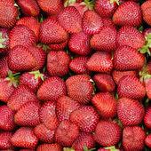 Strawberries Seamless Texture Tile — Stockfoto