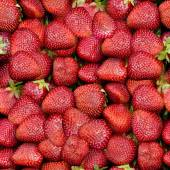 Strawberries Seamless Texture Tile — Foto de Stock