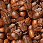 Coffee Beans Seamless Texture Tile — Foto de Stock