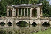 The Palladian Bridge,  Stowe landscape, Buckinghamshire, England — Stock Photo
