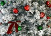 Christmas baubles. Christmas balls. Christmas decoration — Stock Photo