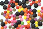 Colourful Chocolate Sweets — Foto de Stock