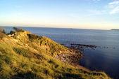 Portland island coast, Dorset , South West England — Stock Photo