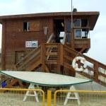 Beach watch tower — Stock Photo #55242509