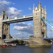 Tower Bridge over the River Thames, London, England — Stock Photo #55242779