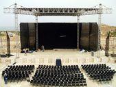 Roman theater,  Caesarea, Israel, Middle East — Stock Photo