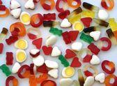 Şekerlemeler. tatlı yiyecek. Tatlılar — Stok fotoğraf