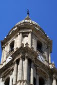 Bell tower, Malaga Cathedral, Andalusia, Spain — Stock Photo