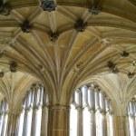 ������, ������: Anglo Saxon abbey Lacock Chippenham Wiltshire England