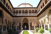 Real Alcazar, Seville, Andalusia, Spain — Stock Photo