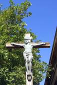 Christ the Lord on a cross. crucifixion — Stock Photo