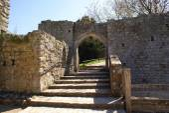 Entrance, Leeds castle, Kent, England — Stock Photo
