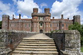 Entrance, Herstmonceux Castle, East Sussex, England — Stock Photo
