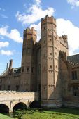 Herstmonceux Castle, East Sussex, England — Stock Photo