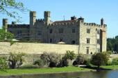 Leeds castle, Kent, England — Stock Photo