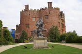 Powis castle, Welshpool, Powys, Wales, England — Stock Photo