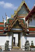 Entrance, Wat Pho, Temple of the Reclining Buddha, Bangkok, Thailand, Asia — Stock Photo