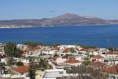 Aerial view of Kalyves or Kalives, Crete, Greece — Stock Photo