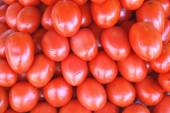Cherry tomato. Cherry tomatoes. Tomatoes at the market for sale — Foto de Stock
