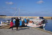 The Venetian port, old harbor, Chania, Crete, Greece — Stock Photo