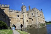 Leeds Castle, Kent, England — Stock Photo