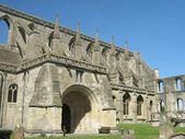 Malmesbury Abbey at  Malmesbury, Wiltshire, England — Stock Photo