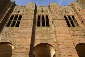 Norman ruined castle, Kenilworth castle, Warwickshire, England — Stockfoto