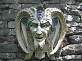 サタン。悪魔。彫刻 — ストック写真