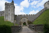Arundel castle, West Sussex, England — Stock Photo