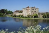 Moated castle — Stock Photo