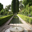 Fountain in the garden of Alhambra, Granada, Andalusia, Spain — Stock Photo #68411575