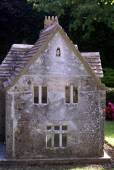 Miniature model of a house — Stock Photo
