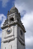 Clock tower of  Surrey County Hall in England, UK — Stock Photo