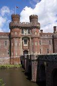 Herstmonceux Castle entrance, East Sussex, England — Stock Photo