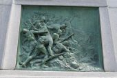 Sculpture of Boer War Memorial, Montreal, Quebec, Canada — Stock Photo