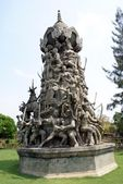 Monument in Ayutthaya, Muang Boran, The Ancient City, Bangkok, Thailand, Asia — Stockfoto
