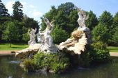 The fountain of Love at Cliveden garden, Buckinghamshire, England — Stock Photo