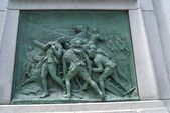 Boer War Memorial In Dorchester Square, Montreal, Quebec, Canada — Stock Photo