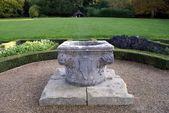 Sculptured urn — Stock Photo