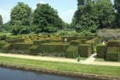 Aerial view of Hever Castle garden in Hever, Edenbridge, Kent, England, Europe — Stock Photo