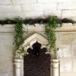 Arched entrance, Painswick Rococo gardens in Gloucestershire, England — Stockfoto #78878234