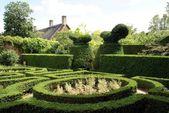 Hidcote gardens in Gloucestershire, England — Stock Photo