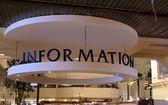 Information desk sign — Stock Photo
